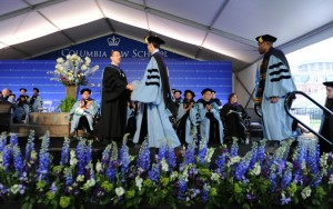 Columbia Law graduation on May 22, 2014
